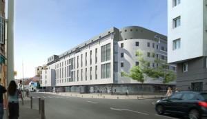 residential building 3d rendering
