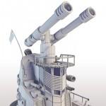 high poly siege tank 3d render