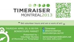 Bid volunteer hours: win a work of art